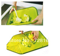 Wholesale Multifunctional plastic foldable cutting board kitchen cutting tools