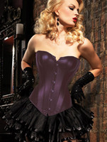 People Movie/Music Stars Sexy sexy full steel boned coffee corset with skirt m1203 Lingerie Small To 2XL In Stock