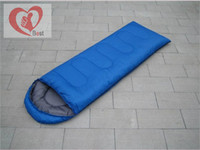 Wholesale Thermal sleeping bag autumn and winter envelope hooded outdoor camping adult sleeping bag