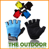 Wholesale Cycling gloves cycling half finger gloves half finger gloves outdoor sports cycling equipment