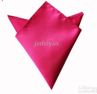 Wholesale mens pocket square silk hankerchief kerchief mocket men s mocketer noserag pocket handkerchief