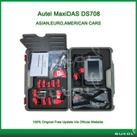 Wholesale 100 Original Updated Via Online Autel MaxiDAS DS708 Car Diagnostic Tool DS Scanner With DHL