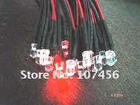 Wholesale 100PCS MM MM MM V v v RED YELLW BLUE GREEN WHITE ORANGE PURPLE PINK V v v DC LED CM PRE WIRED CAR LED