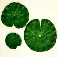 Wholesale 1PCS diameter cm Artificial lotus leaf fake slik plants for Wedding Party Home Decoration gift craft DIY retail