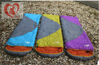 Wholesale Outdoor sleeping bag summer envelope sleeping bag camping sleeping bag sleeping bag