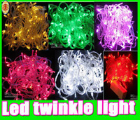Free shipping Led twinkle Christmas Light Strip 10m waterpro...