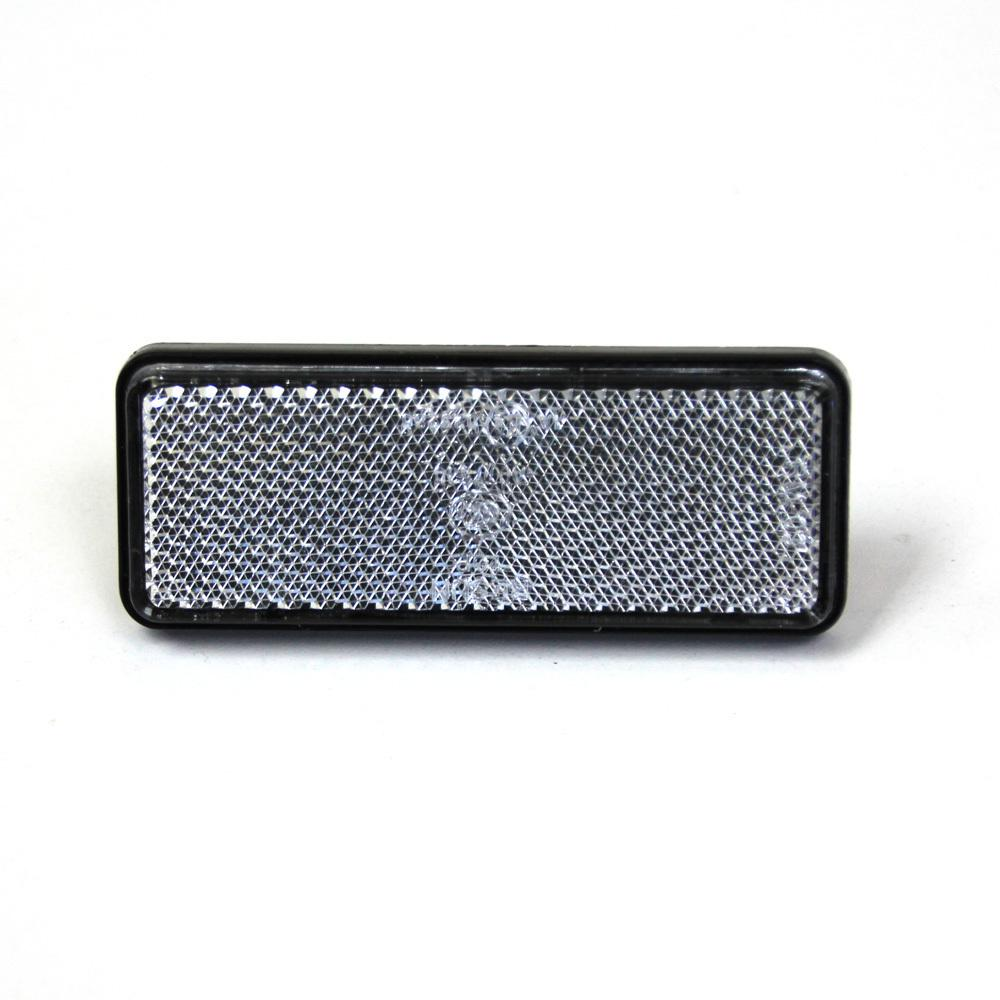 2* Clear Lens White Light LED Reflectors Brake Light ...