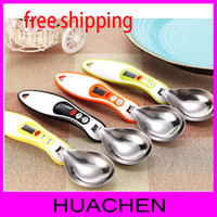 stainless steel measuring spoon - 7869 g g stainless steel measuring spoon highly accurate removable spoon head scale digital scale spoon kitchen scales