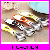 Wholesale 7869 g g stainless steel measuring spoon highly accurate removable spoon head scale digital scale spoon kitchen scales