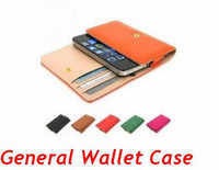 Cheap Leather Wallets Genuine Leather Best For Apple iPhone For Christmas Apple Folio Pu Holster