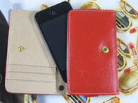 Wholesale Flip PU Leather Wallet Purse Cover Case Credit Card Holder Skin Shell Protector for Samsung Galaxy S4 S3 I9300 I9500 Cell Phone Cases Covers
