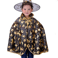 Halloween pumpkin - Halloween Masquerade Costume Halloween costume manufacturers gold silver pumpkin cloak adult children