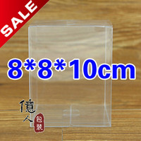 Wholesale High quality Spot PVC clear plastic box Display food cosmetic wedding gift etc box cm