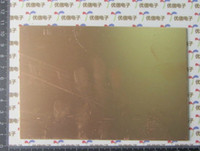 Wholesale 10x15 CM High quality Glass fiber universal experiment double side copper clad circuit board plate PCB