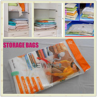 Wholesale 80cm X110cm x80cm Space Saver Saving Storage Bag Vacuum Seal Compressed Organizer New Good Quality Low Price
