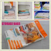 80cm X110cm 60x80cm Space Saver Saving Storage Bag Vacuum Se...
