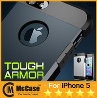 Wholesale SGP TOUGH ARMOR For iPhone G Air HYBRID SLIM Soft TPU PC Shockproof Cases For iPhone S S C Galaxy S5 With Retail Package