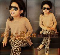 Wholesale Hot Selling Baby Clothing Leggings Children s Autumn Leggings Girls Fashion Leopard Leggings Children Fashion Clothes