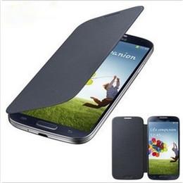 Wholesale Haute qualité Flip Leather Housse en cuir PU avec étui arrière pour Samsung GALAXY S4 i9500 S3 i9300 mini i8190 i9190 Livraison gratuite