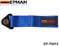 Wholesale EPMAN Universal Towing Ropes tow strap default color is blue orange blue green red black brown gray EP TH013