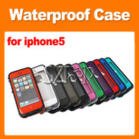 Wholesale High Quality Shockproof Waterproof Dirt Proof Snow Proof Case For iPhone5 S with Retail Box