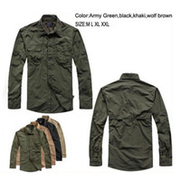 Wholesale Brand New Hot Sale Tactical Quick Dry Breathable Full Sleeve Non Removable sleeves Nylon Men s Shirts