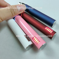 Wholesale Best quality colorful Rechargeable variable voltage ego V Battery e cig ego battery