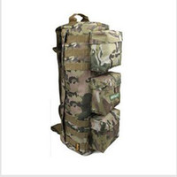 tennis bags - Airborne Tactical Airsoft Backpack Outdoor Molle Backpack Mountaineering Travel Camping Hiking Bag