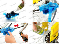 Wholesale LLFA1744 Road Mountain Bicycle Chain Cleaner Machine Cycling Bike Brushes Scrubber Wash Clean Tool Kit