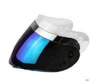 Full Face face shield - AGV K3 K4 LENS FACE SHIELD VISOR Rainbow colors CHROME MIRROR IRIDIUM Rainbow colors