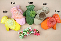 Wholesale Women Peony gloves girl s cloth gloves five colors gloves pairs female gloves warm winter gloves