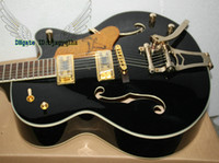 Wholesale Custom Shop Black Falcon Jazz Guitar Electric Guitars withBigbys OEM Musical instruments