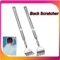 Wholesale New and Pocket Size Portable Telescopic Extendable Extending Back Scratcher Pen Clip