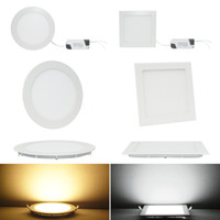 6W 85-265V Yes 6W 9W 12W 15W 18W Dimmable CREE LED Recessed Ceiling Panel Down Lights Bulb