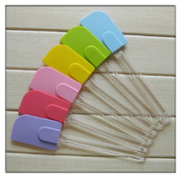 Wholesale Silicone Kitchen Utensil Tool Spatula Butter Mixer Cooking Baking Scraper