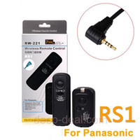 Wholesale RW RS1 Wireless Shutter Remote Panasonic LC L1 GF1 GH1 G2 G1 DMC FZ20K