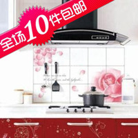 Graphic vinyl PVC Animal Min.order is $5 (mix order)2131 quality aluminum foil oil pollution smoke tile kitchen cabinet decoration stickers