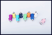 Wholesale Colorful Bullet USB Car Charger Universal Adapter for iphone s splus s plus Cell Phone PDA MP3 MP4