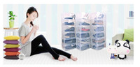 Wholesale 300 Plastic Foldable Shoes storage box Clear Transparent Plastic Folding Shoes Box Woman Boots Boxes Bins Makeup Boxes