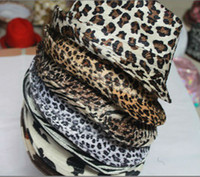 Jazz style de chapeau la mode chapeau fedoras petite imprimé léopard été chapeau cru masculin féminin