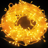 Wholesale 2pcs Color LED M V Fairy Light String Christmas Party Wedding Garden Decor