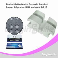 Cheap No dental orthodontic Best No Manual Edgewise ceramic bracket