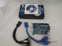 Wholesale 16CH GV V7 GV600 Version CCTV DVR Surveillance Cards for CCTV Systems Real Time DVR Card S564