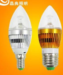 E14 E27 E12 base fitting Dimmable 12w AC85-265V warm  cold white LED candle bulb corn light