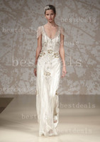 Hot Sales Jenny Packham Wedding Dresses Sexy Summer V Neck B...