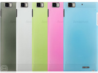 Cheap 5 candy color thin light Black White Cover Case Slim Fit hard SGP Case for Lenovo Phone K900 900 Wholesale R79001