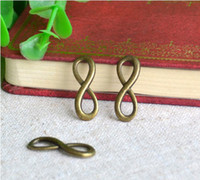 Wholesale Vintage infinity Sign Charms Metal Pendants Alloy pandent Beads Fit Diy Jewelry Accessories