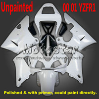 ABS fairing r1 - Unpainted motorcycle fairing for YAMAHA YZF R1 YZFR1 YZF r1 fairings YZFR1000 blue white body kits zs86