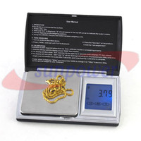 Wholesale 20pcs by DHL UPS FEDEX g x Electronic Digital Weight Jewelry Scale balance Touch screen LCD display