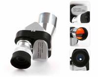 achat en gros de poche portée-Vente chaude ! Mini Pocket 8 X 20 argent métal monoculaire oculaire avec champ de Vision de nuit gratuit #C1264
